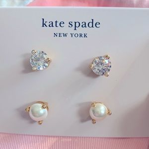 "Kate Spade ""Rise and Shine"" 2-Stud Earring Set"